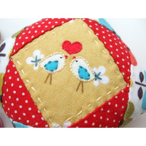 Pincushion close up
