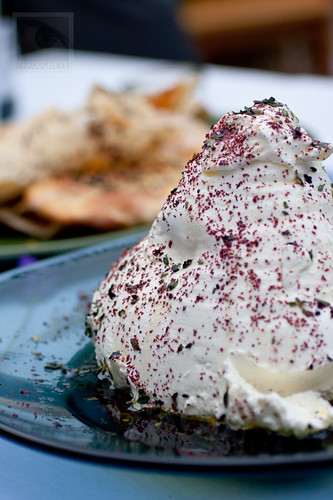 Labneh with garlic & sumac