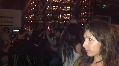 Laila Bengharsa at STK Lounge