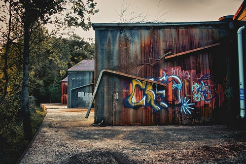 Rust and Paint by MatthewOsbornePhotography