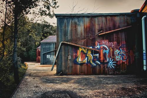 Rust and Paint by MatthewOsbornePhotography