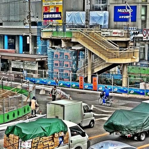 交差点の風景…。 #afternoon