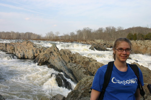 Great Falls National Park - Falls and Vicky (By Ryan Somma)