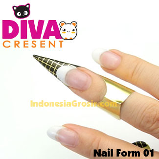 Nail Form for Extension