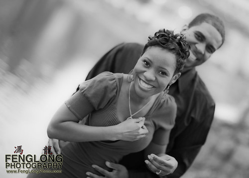 Rita & Andre Engagement Session in Piedmont Park [Atlanta Wedding Photographer]