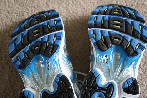 Asics Gel Cumulus shoes bottoms