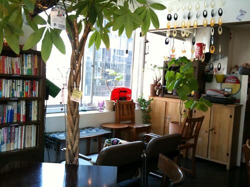 雰囲気のいいカフェでした。