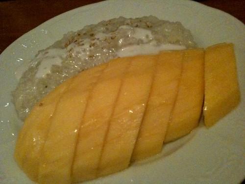 こっちはマンゴー。もち米付き。