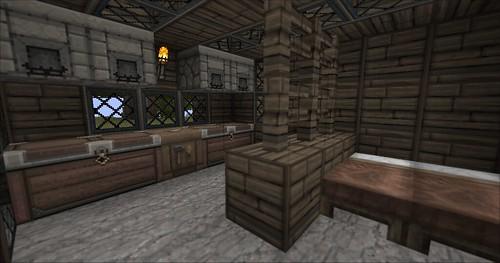 Minecraft - House Inside