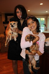 Esther, Jaclyn & two other little ladies