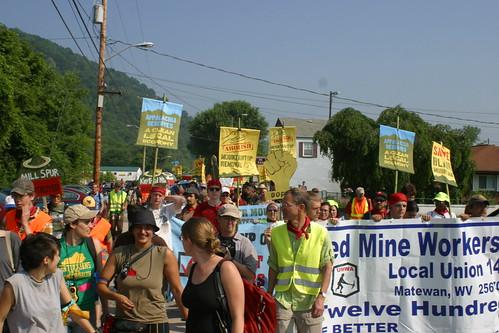 March on Blair Mountain