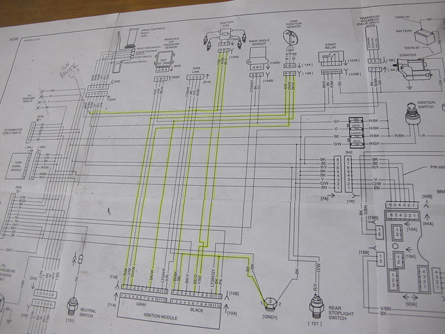 1981 Sportster Key Switch Wiring Diagram