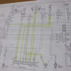 1994 Harley Sportster 883 Wiring Diagram Two Way Light Switch Uk Evo Sporty Rewire (reduced To Essentials Only)