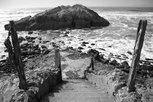 Sutro Baths Steps by sirgious