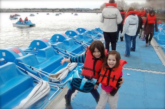 Paddleboats!