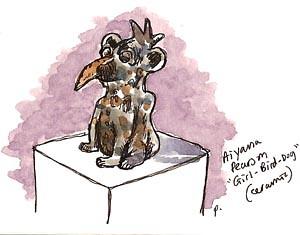 aiyana pearson: girl bird dog