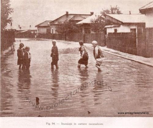 poza 13  - Inundatii in cartiere necanalizate