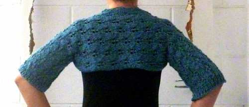 Reading-in-bed shrug