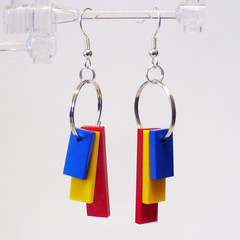 RYB Tile Dangle Earrings 1