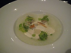 Lilac course - Dinner at Grant Achatz's Alinea in Chicago
