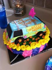 Mystery Machine Cake