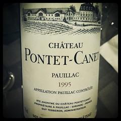 Chateau Pontet-Canet 1995