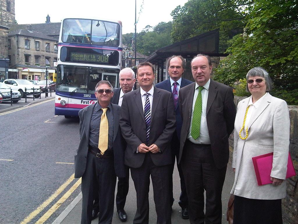Transport Minister visits Holme Valley