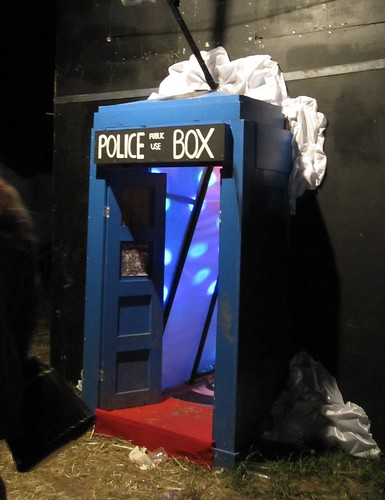 Sunrise Police Box