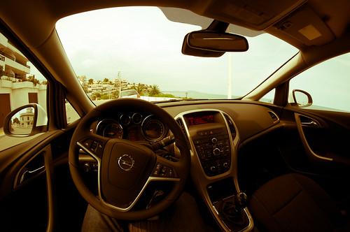 Detrás del volante