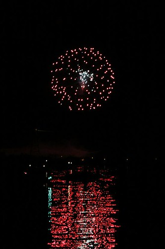 Wisconsin River Fireworks 7-2-11 024