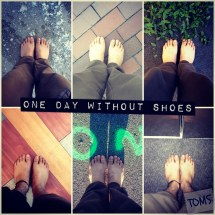 One-day without Shoes