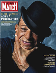 COUVERTURE DU PARIS MATCH N° 3066 DU 20 FEVRIE...