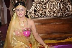 South Actress CHARULATHA Hot Photos Set-2- at Sri Ramanujar film shooting (3)