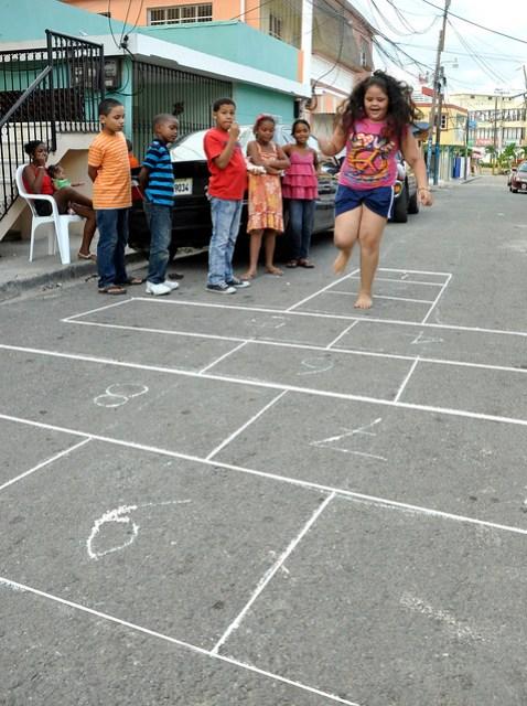 Ninos Y Ninas Retoman Juegos Tradicionales Imagenes Dominicanas