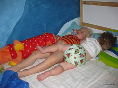 Overnight Double Stuff Cloth Diaper