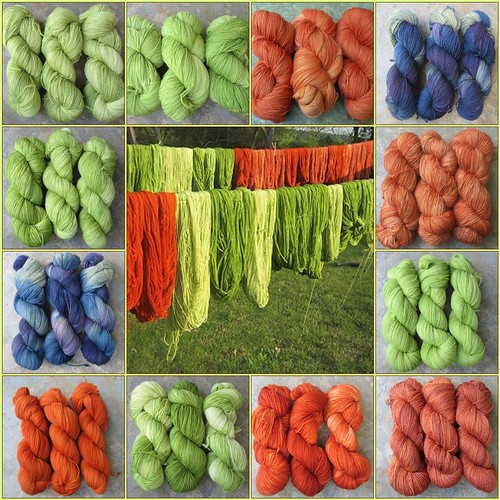 Knitting Notions new  yarn colors for 2012
