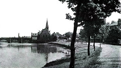 """The Water Bridge, Waterside and the Wilson Fullarton Church • <a style=""""font-size:0.8em;"""" href=""""http://www.flickr.com/photos/36664261@N05/14055614179/"""" target=""""_blank"""">View on Flickr</a>"""