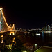 Story Bridge, at night