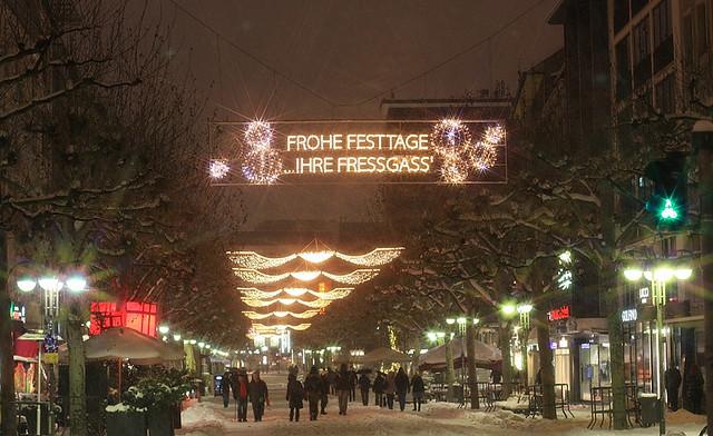 Grosse Bockenheimer Strasse, Fressgass, Frankfurt am Main