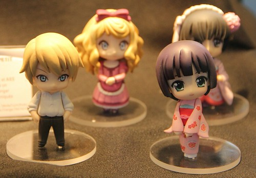 Nendoroid Petit Yune (2), Claude, and Alice