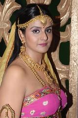 South Actress CHARULATHA Hot Photos Set-2- at Sri Ramanujar film shooting (17)