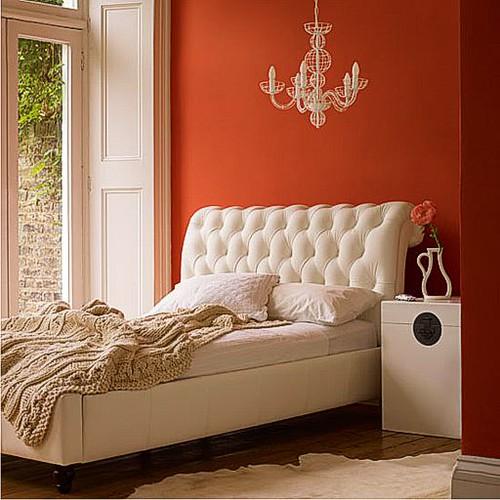 color-orange-bedroom