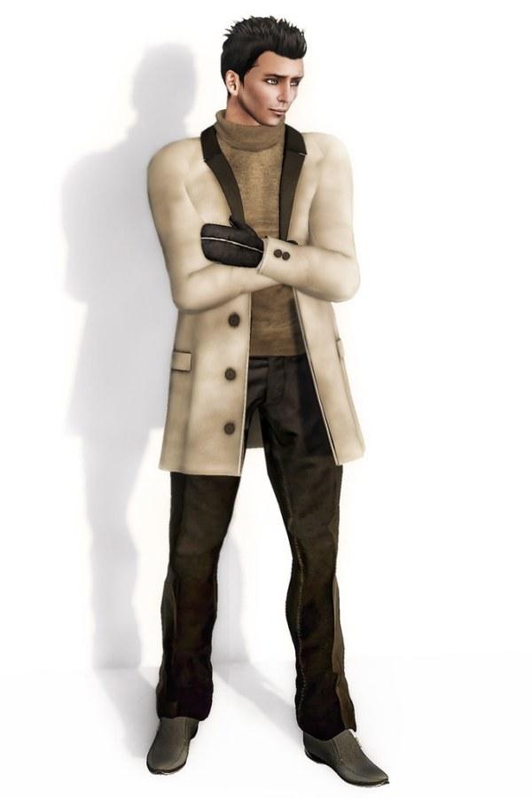 Male Fashion - Oscar Page