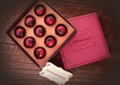 John and Kiras Chocolate Cherries