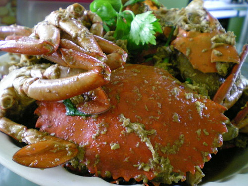 Mrs STP's fried crabs