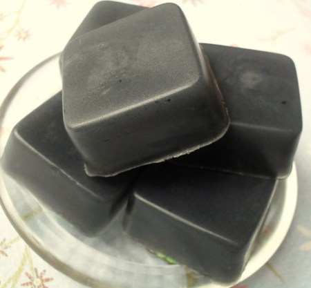 Jabon de Glicerina con Carbón Activado