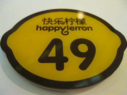 Customer number @ Happy Lemon