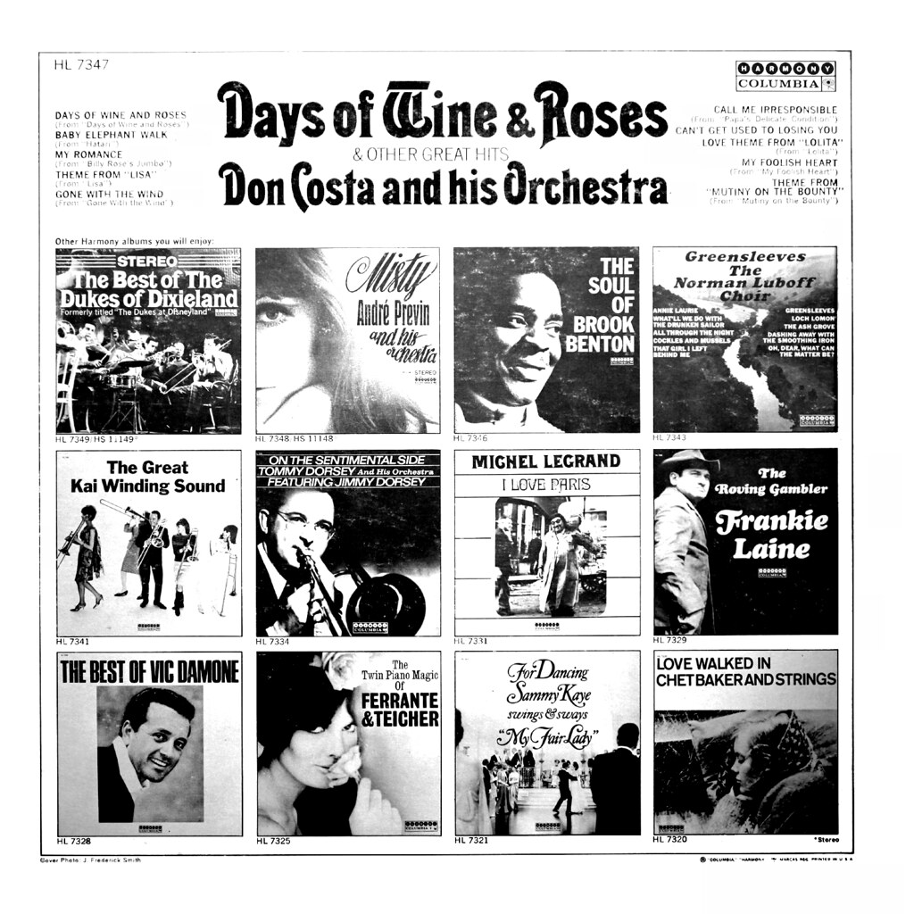 Don Costa - Days of Wine and Roses