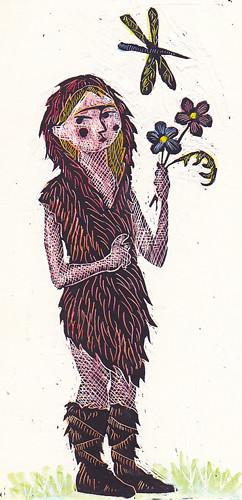 Illustration Friday: Prehistoric