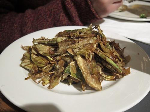 Fried Artichoke Slices